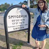 Smygehuk - The southernmost point of Sweden